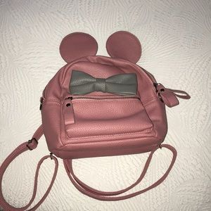 Handbags - Mini Disney Backpack with Minnie Mouse Ears